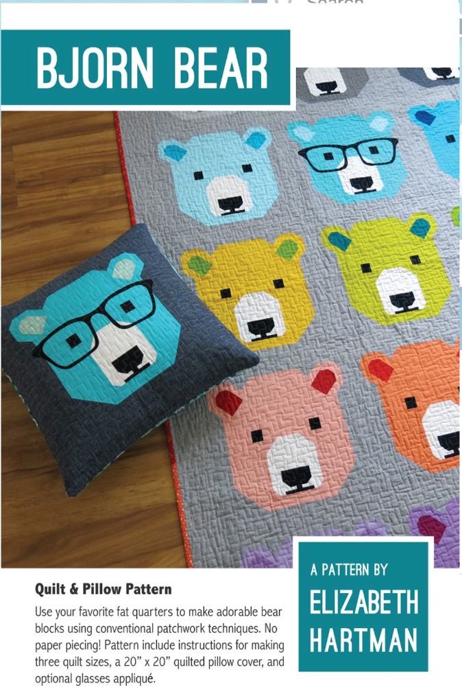 Bjorn Bear Quilt Pattern Quilting Is My Therapy