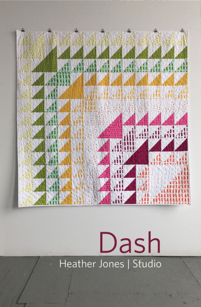 Dash Quilt Pattern by Heather Jones