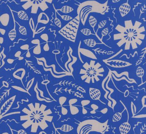 Yucatan Deep Sea Blue Tonal Fabric