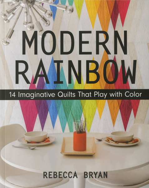 Modern Rainbow Book by Rebecca Bryan