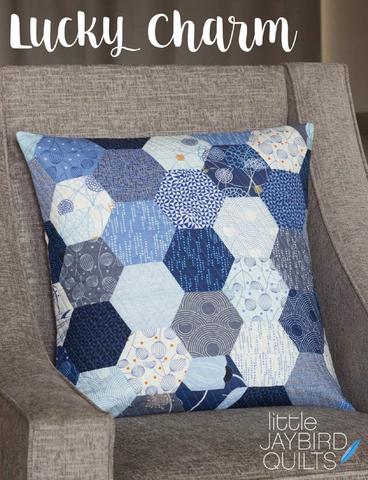 Lucky Charm Pillow Pattern by Jaybird Quilts