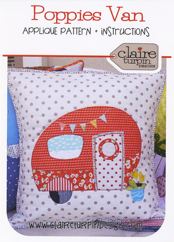 Poppie's Van Cushion Pattern
