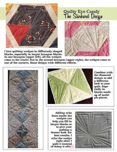 Dot to Dot Free-motion Challenge Quilting Along – Quilting