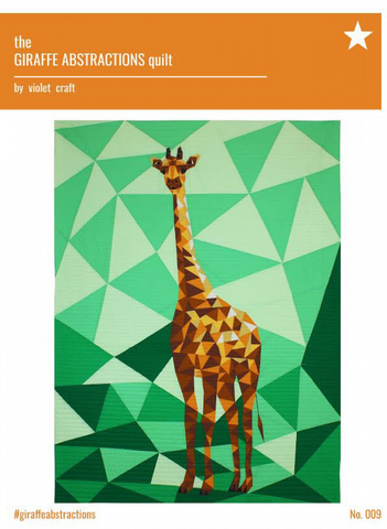 Giraffe Abstractions Quilt Pattern