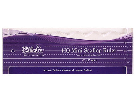 Handi Quilter Ruler Mini Scallop Ruler