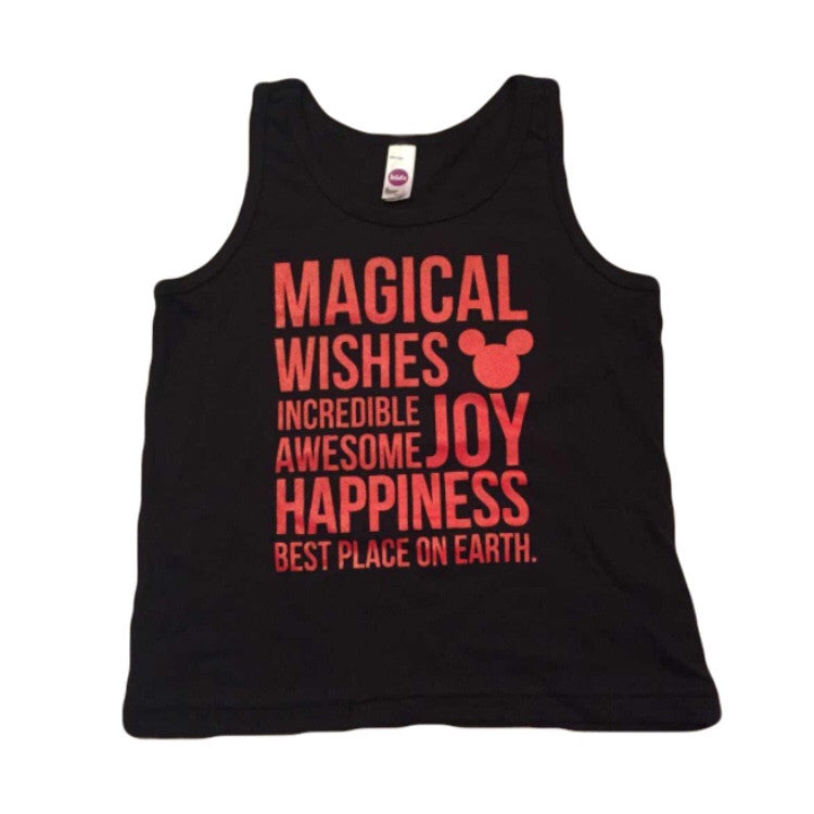 Magical Kidster Black Tank