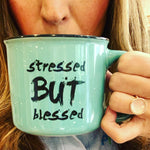 Stressed But Blessed™ Mint Mug