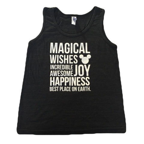 Magical Kidster Black & White Tank
