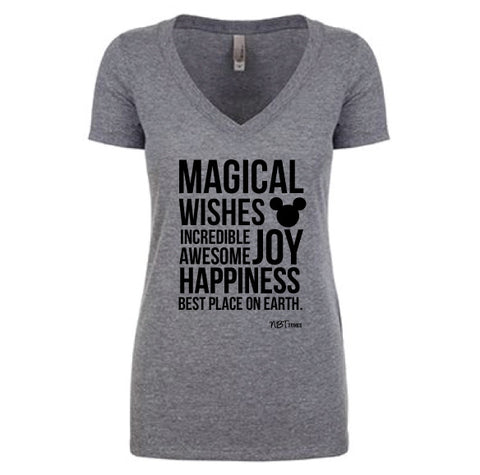 Magical Women's Grey Tee