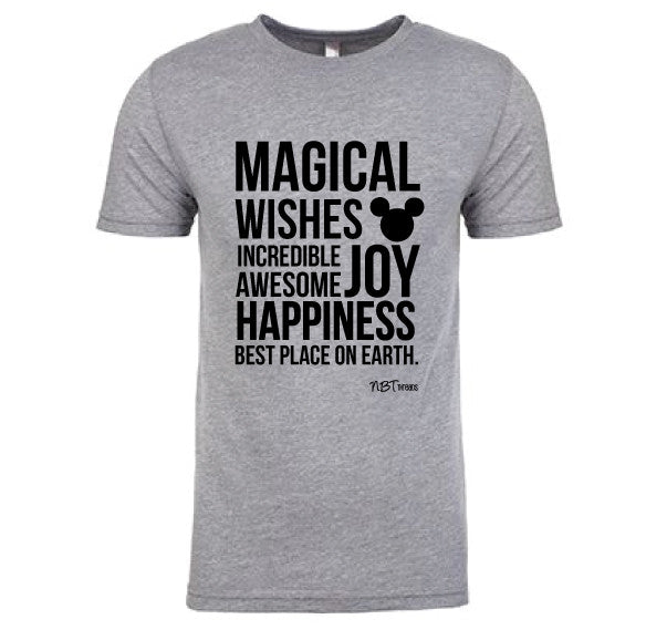 Magical Men's Grey Tee