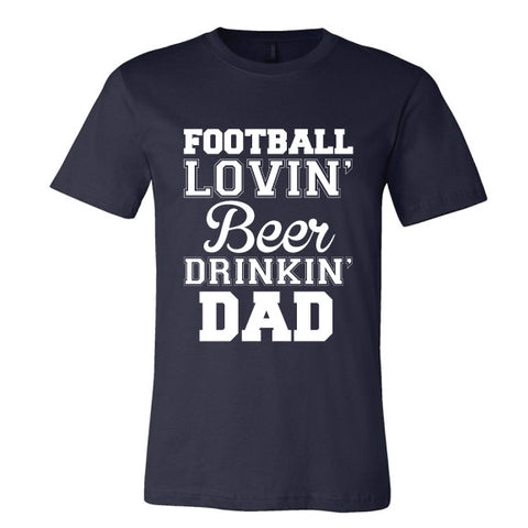 FOOTBALL LOVIN' DAD Tee {Pre-Order}