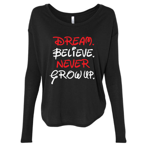 Believe Long Sleeve Tee
