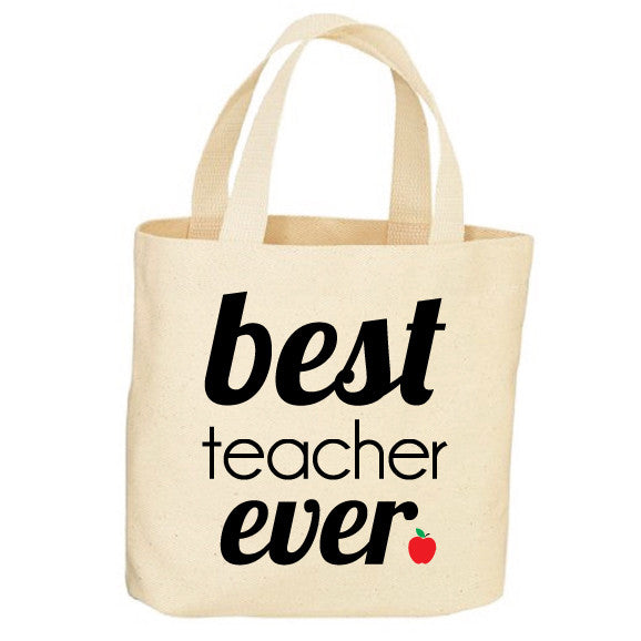 Best Teacher Ever Haute Tote