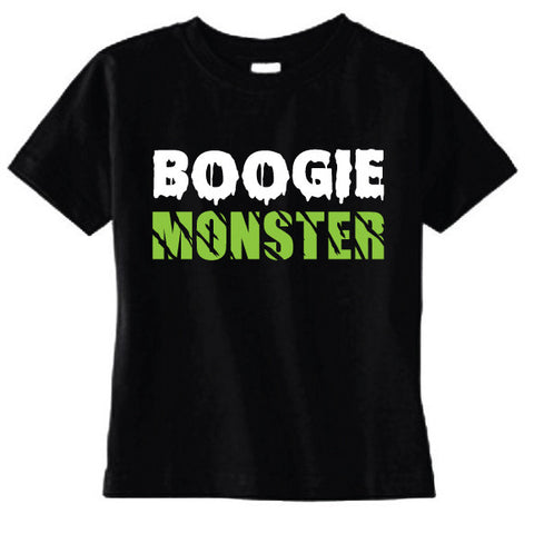 Boogie Monster Kid Lime Tee