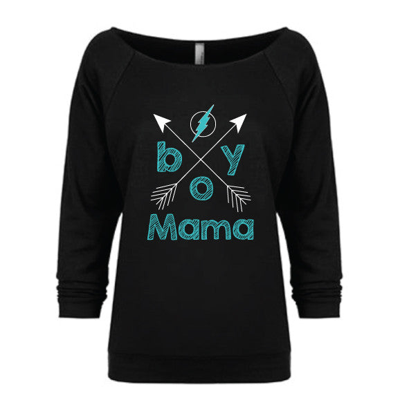 Boy Mama Slouchy Pullover