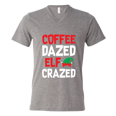Coffee Dazed Elf Crazed Unsiex Tee