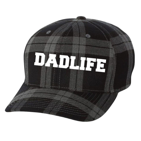 DADLIFE™ Buffalo Plaid Flexfit Hat {Limited Edition}
