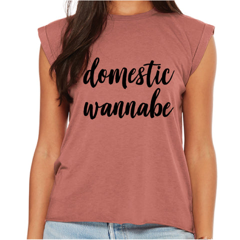 DOMESTIC WANNABE TEE