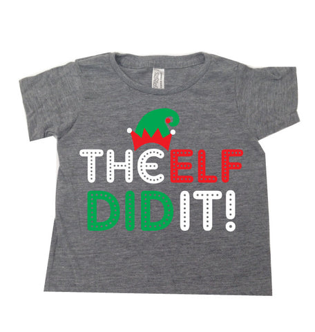 Elf Did It TEE