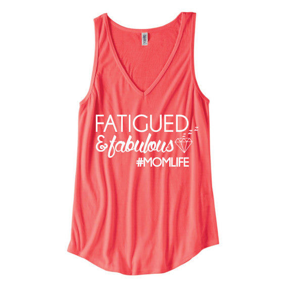 Fatigued and Fabulous™ Coral Tank