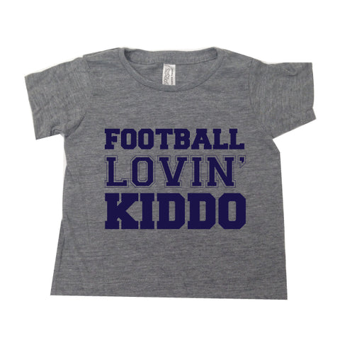 FOOTBALL LOVIN' KIDDO TEE