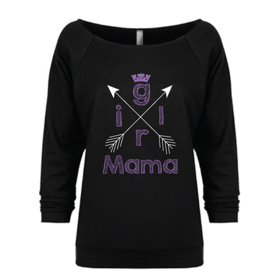 Girl Mama Slouchy Pullover