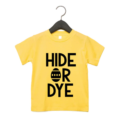 Hide or Dye Kids Tee