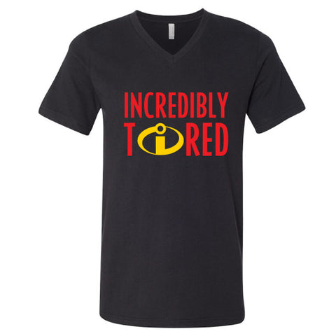 Incredibly Tired V-Neck Tee