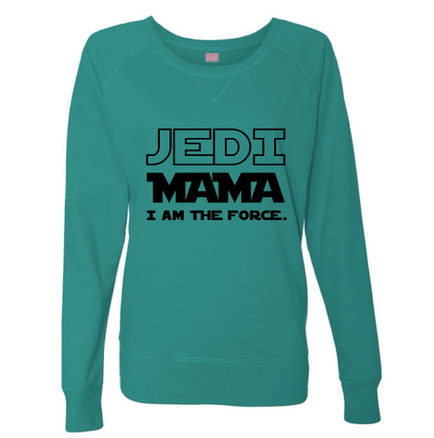 Jedi Mama Jade Slouchy Pullover