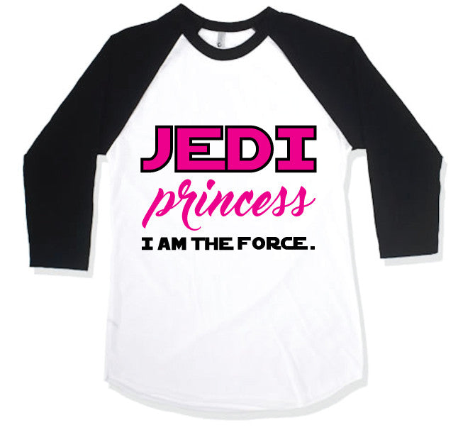 JEDI Princess Kids Raglan