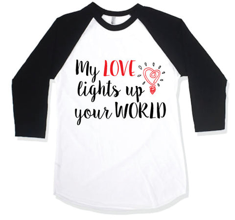 MY WORLD Kid Raglan