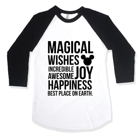 Magical Monochrome Raglan