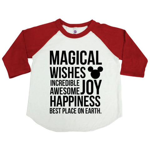 Magical Red Raglan