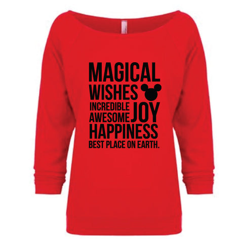 MAGICAL RED PULLOVER