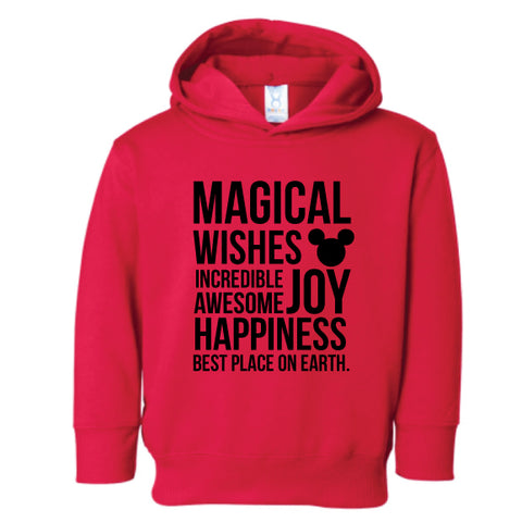 Magical Kids Hooded Pullover