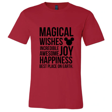 MAGICAL RED CREW TEE