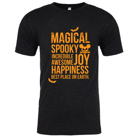 Spooky Magical Crew Tee