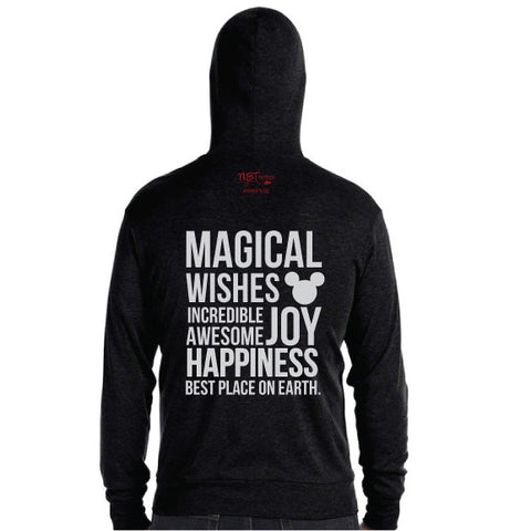 MAGICAL Lightweight Zip Hoodie