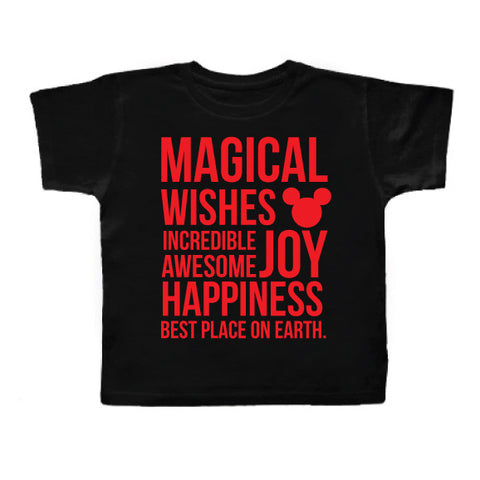 Magical Kidster Black Tee Limited Edition