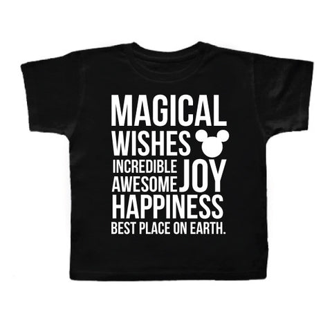 Magical Kidster Black & White Tee Limited Edition