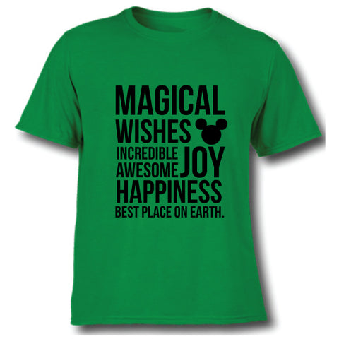 MAGICAL KIDS GREEN TEE