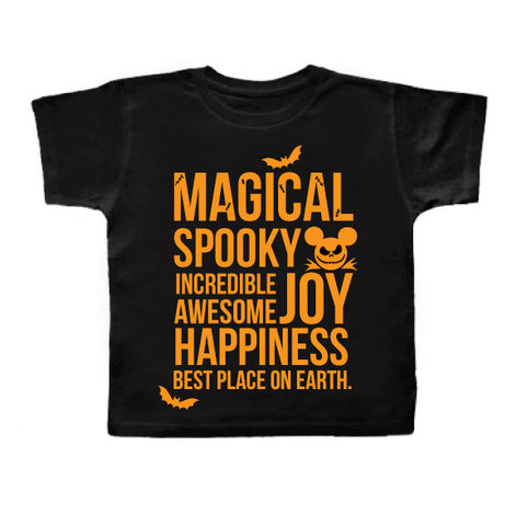 SPOOKY MAGICAL Tee