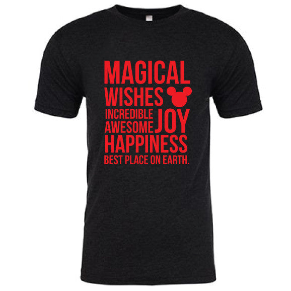 Magical Men's Black Tee