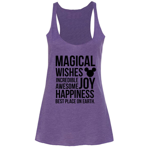 MAGICAL PURPLE TANK