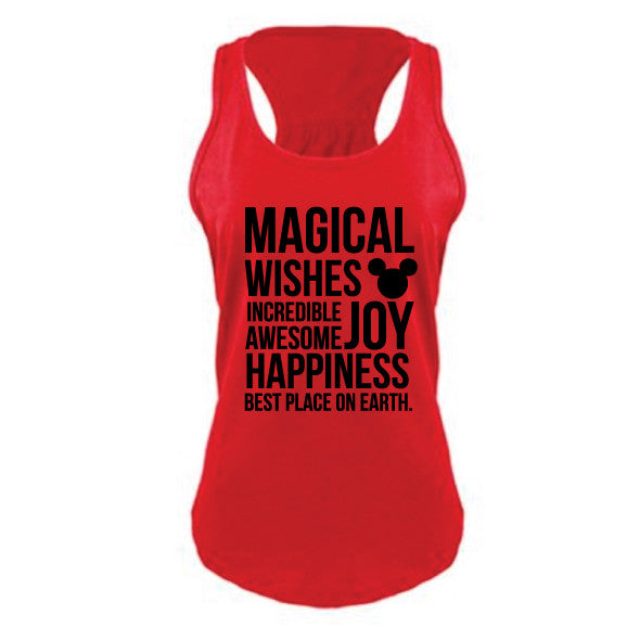 Magical Women's RED Tank