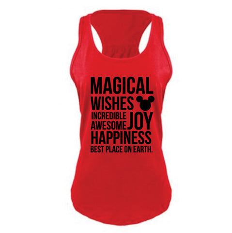 Magical Women's RED Tank - NEW!