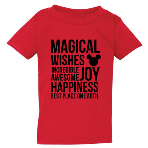 MAGICAL RED KIDS TEE