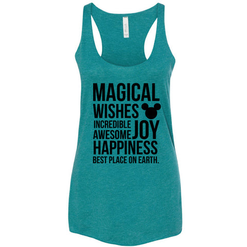 MAGICAL TEAL TANK