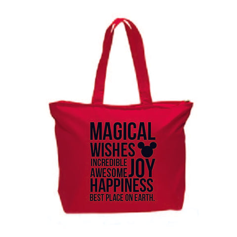 MAGICAL RED TOTE
