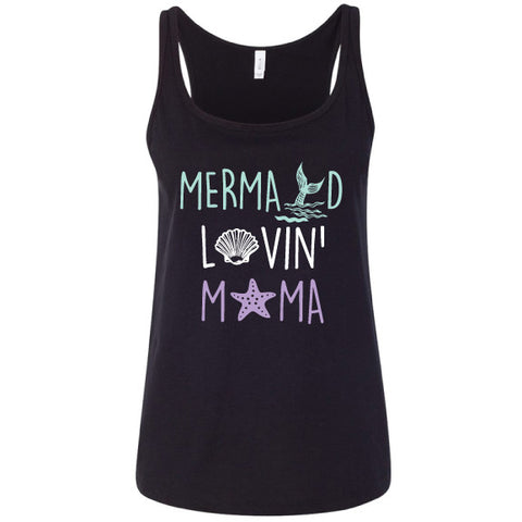 Mermaid Lovin' Mama Relaxed Tank
